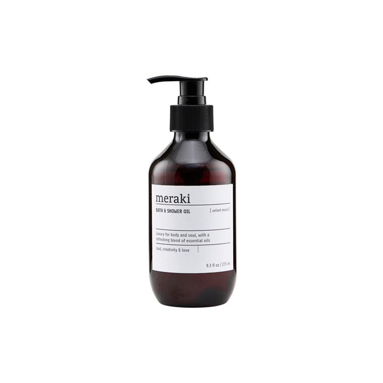 Meraki Bath & Shower Oil Velvet Mood