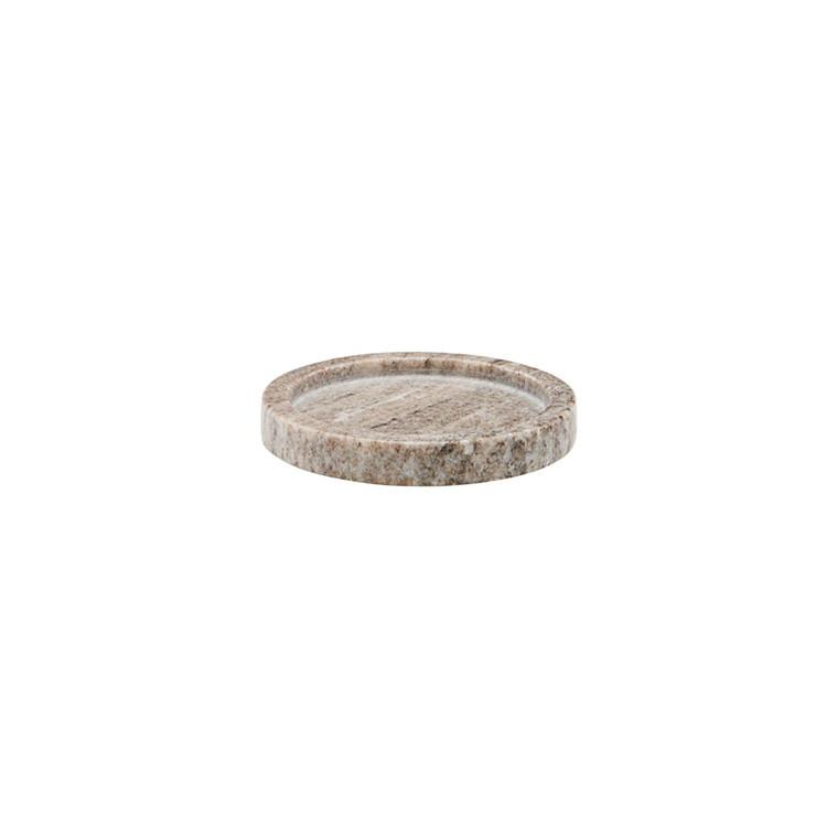 Meraki Tray Beige Round Small