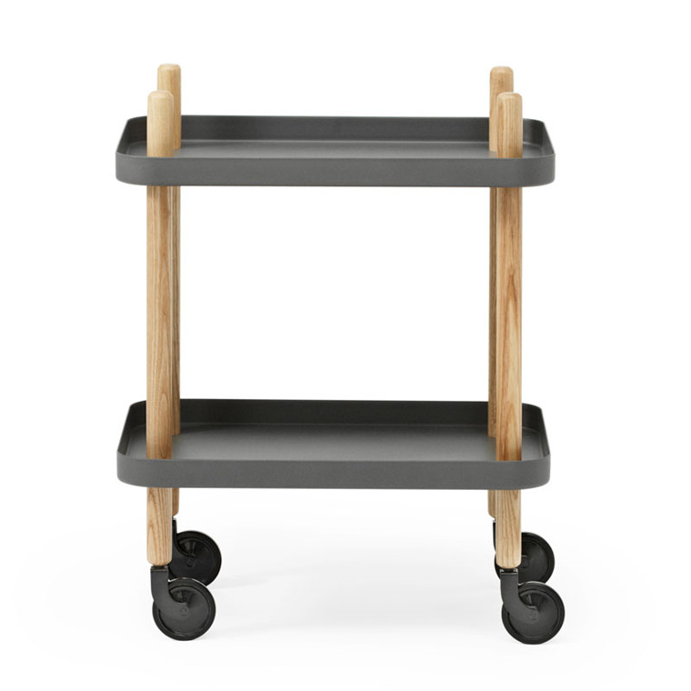 Normann Cph Block Table Dark Grey