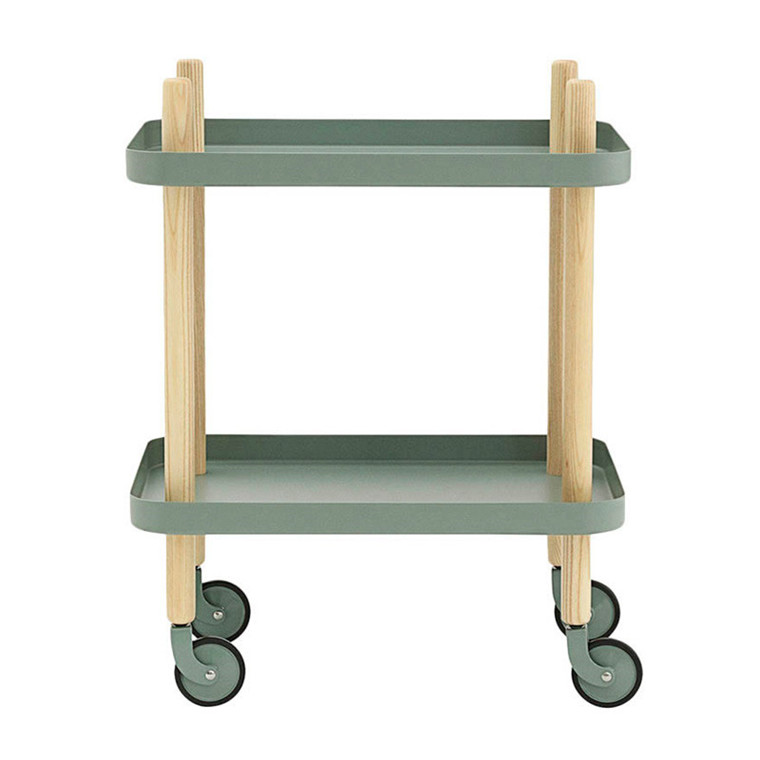 Normann Cph Block Table Dusty Green