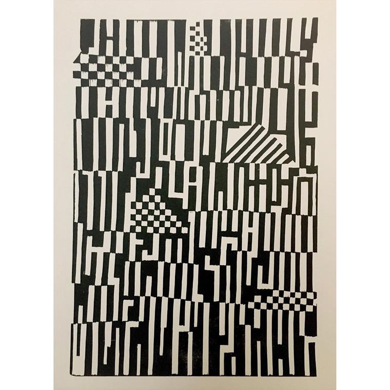 Monika Petersen Pattern Black/Creme
