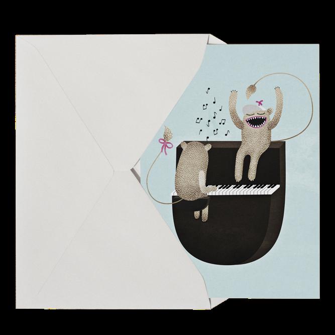 Michelle Carlslund Play Postkort