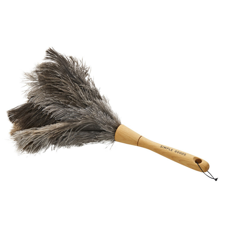Simple Goods Duster Ostrich Feathers