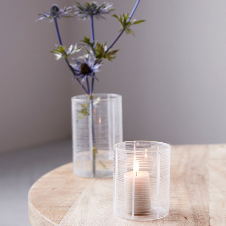 House Doctor Tealight North Clear