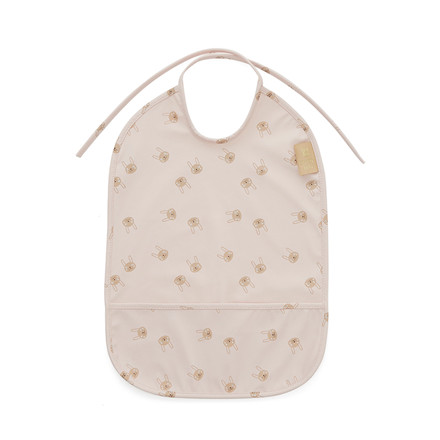 OYOY Rabbit Bib Rose