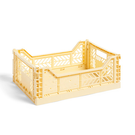 HAY Colour Crate M Light Yellow