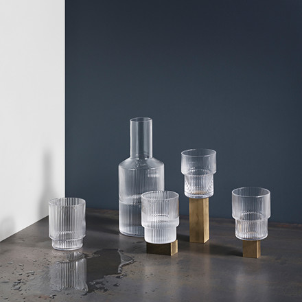 Ferm Living Ripple Glas