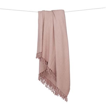 Algan Dolu Hamamhåndklæde Rosa