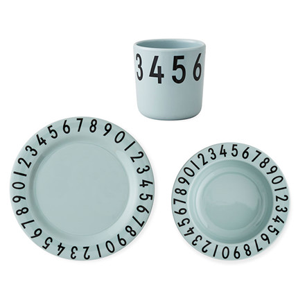 Design Letters The Numbers Gift Set Green
