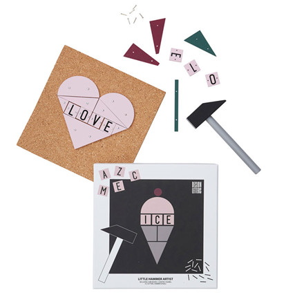 Design Letters Little Hammer Artist Icecream