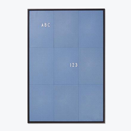 Design Letters Message Board A2 Blå