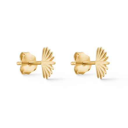 Enamel Copenhagen Sunrise Studs Gold-Plated