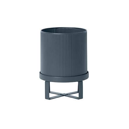 Ferm Living Bau Pot Dark Blue Small