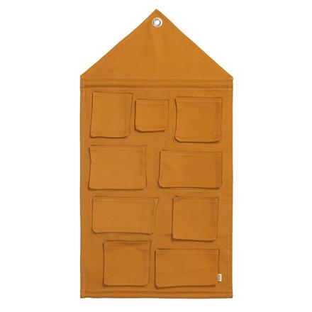 Ferm Living House Wall Storage Mustard