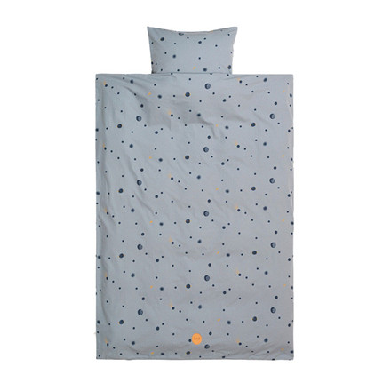 Ferm Living Moon Bedding Faded Blue