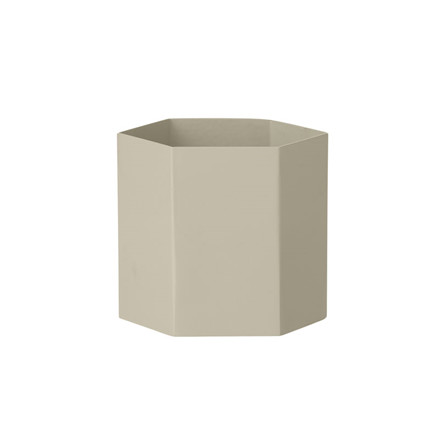 Ferm Living Hexagon Pot Grey X-Large
