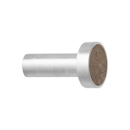 Ferm Living Steel Hook Brown Marble Small