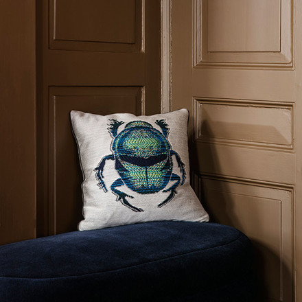 Ferm Living Salon Cushion Beetle