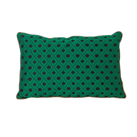 Ferm Living Salon Cushion Mosaic Green