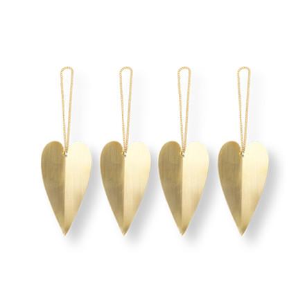 Ferm Living Heart Brass Ornamenter