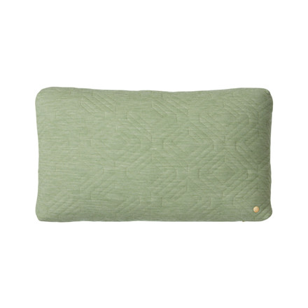 Ferm Living Quilt Cushion Green 60 x 40