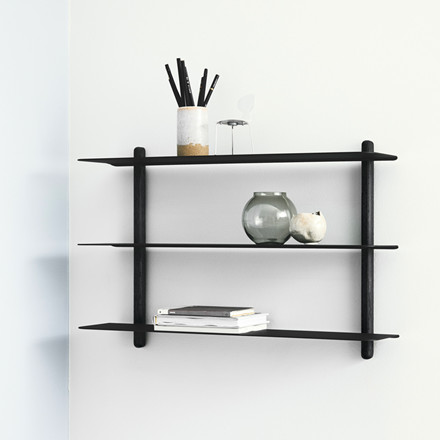 Gejst NIVO Shelf A Black Ash Black