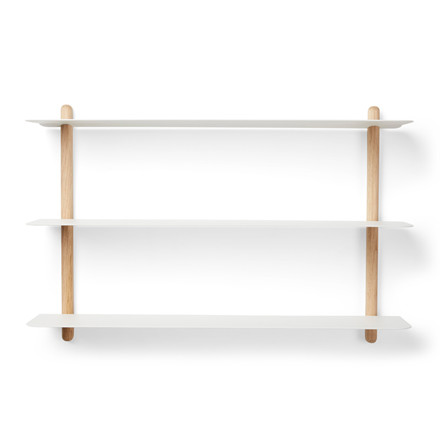 Gejst NIVO Shelf A Light Oak White