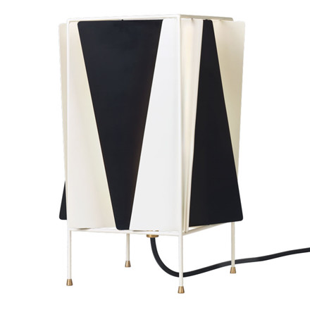Gubi B-4 Table Lamp Black & White