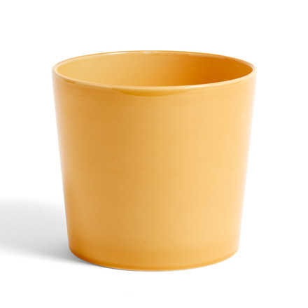 HAY Botanical Family Pot L Warm Yellow
