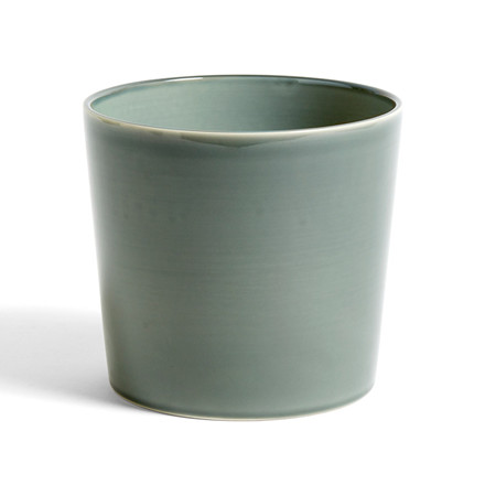 HAY Botanical Family Pot L Dusty Green