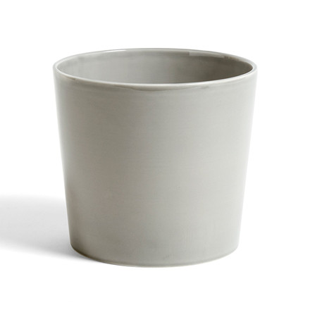 HAY Botanical Family Pot L Light Grey