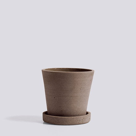 HAY Flowerpot With Saucer S Terracotta