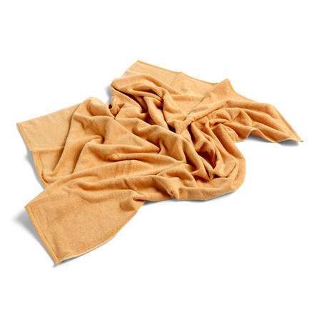 HAY Frotté Bath Towel Warm Yellow