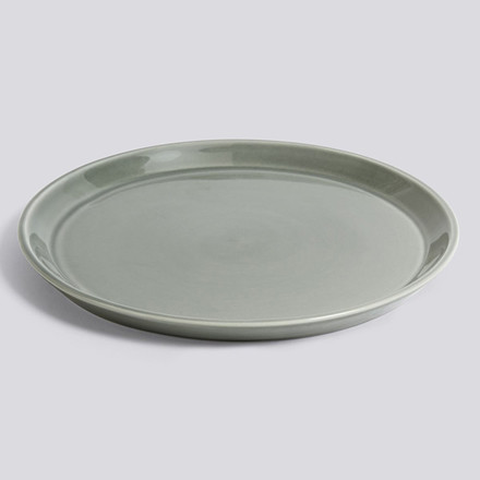 HAY Botanical Family Saucer XL Dusty Green