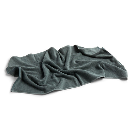 HAY Frotté Bath Towel Dark Green