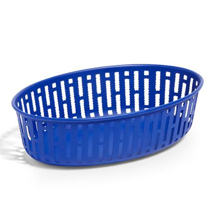 HAY Panier Oval Bright Blue