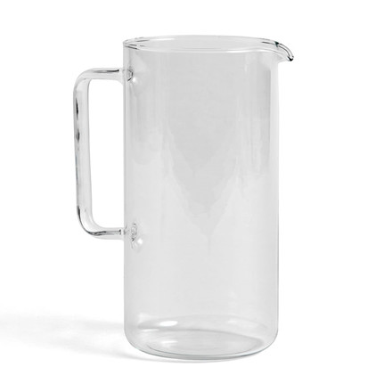 HAY Glass Jug Clear Large