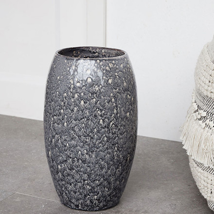 House Doctor Plain Roman Vase Jordfarve