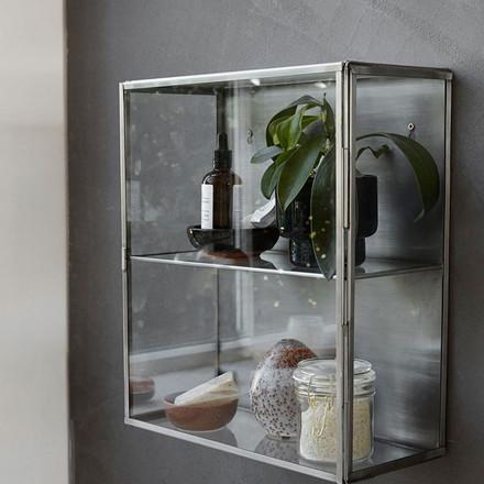 House Doctor Glass Zink Skab Lille