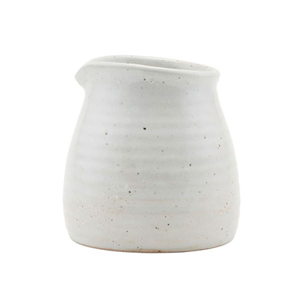 House Doctor Made Jug Ivory H 10 cm