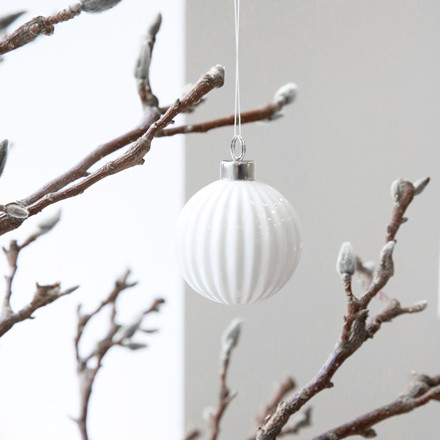 House Doctor Pleated Ornament