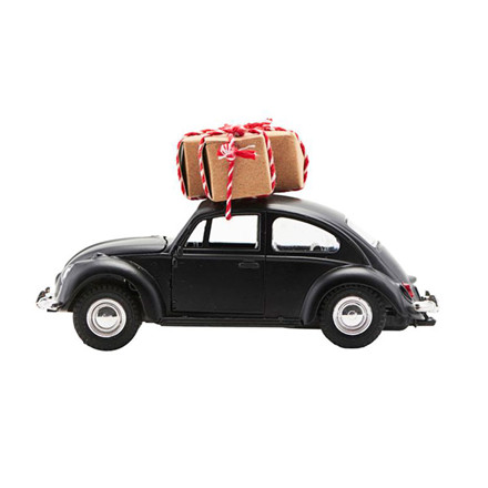 House Doctor Xmas Car Black