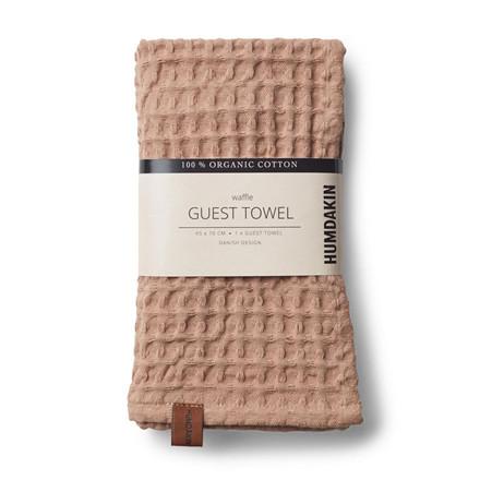 Humdakin Waffle Guest Towel Latte