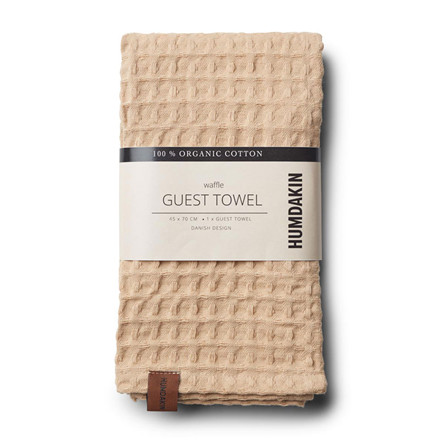 Humdakin Waffle Guest Towel Sand