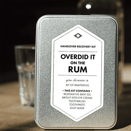 Men's Society Overdid It On The Rum Kit