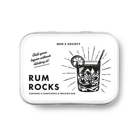 Men's Society Rum Rocks Cooling Stones