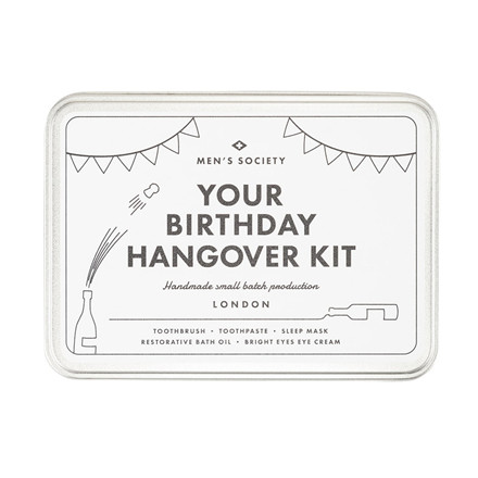 Men's Society Your Birthday Hangover Kit
