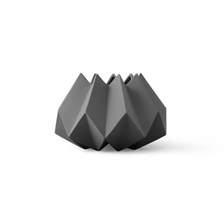Menu Folded Vase Carbon