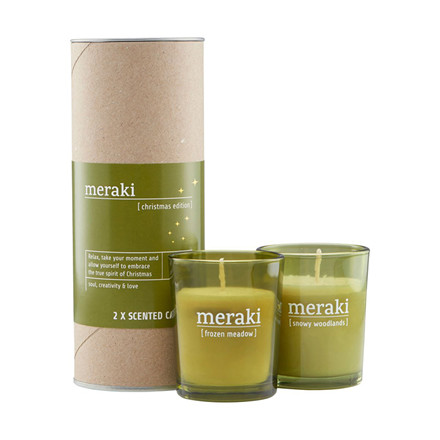 Meraki Scented Candle Christmas Edition