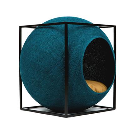 Meyou Paris The Cube Peacock Kattekurv